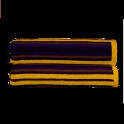 Kingsley Carnival Stripe Hand Towel Saffron (10300630)