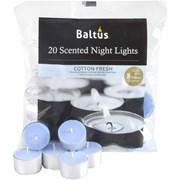 Baltus 8hr Burn Night Light Cotton Fresh 20s (PES020-20CF)
