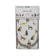 Cooksmart Curious Cats Dble Oven Glove (DG1730)