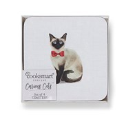 Cooksmart Curious Cats Coasters 4pack (AC1735)