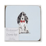 Cooksmart Curious Dogs Coasters 4pack (AC1749)