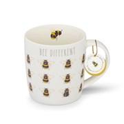 Cooksmart Bumble Bees China Barrel Mug Be Differen (CM1780)