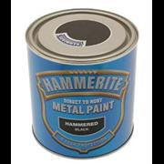 Hammerite Hammered Paint Black 250ml (5084792)