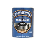 Hammerite Smooth Black Direct To Rust 5ltr (5084867)