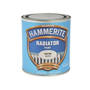 Hammerite Radiator Paint Satin White 500ml (5084917)