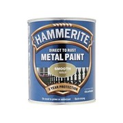 Hammerite Smooth Gold Direct To Rust Paint 750ml (5092830)