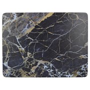 Creative Tops Ct Navy Marble Premium Placemats 6pk (5233720)