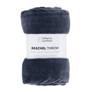 Raschel Velvet Touch Throw Navy 200x240 (DS/52645/W/200240/NA)
