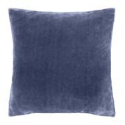 Raschel Velvet Touch Cushion Navy (DS/52645/W/CC55/NA)
