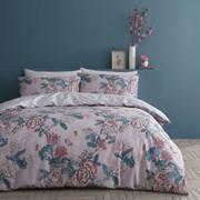 Peony Gardens Duvet Set Pink King (BD/52690/W/KQS/PK)