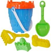 Palgrave 6pc round castle bucket set 60mm (50121)