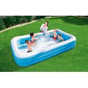 Bestway Deluxe Rectangular Family Pool (BW54009-20)