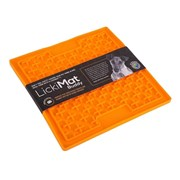 Sharples Lickimat Soother Treat Creating Mat Orange 20cm (548578)