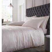 Silky Soft Satin Duvet Set Blush Double (BD/55075/W/DQS/BLH)
