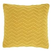 Chevron Knit Cushion Ochre 43x43 (DS/55133/W/CC43/OC)