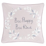 Bee Kind Cushion Pink & Grey 43x43 (DS/55134/W/CC43/PGR)