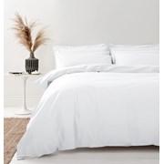 200tc Organic Duvet Set Chalk White Single (BD/55138/R/SQS/CHA)