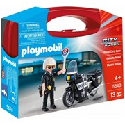 Playmobil City Action Collectable Small Police Carry Case (5648)