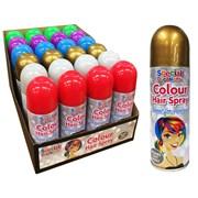 Colour Hair Spray Asstd 200ml (5941A)