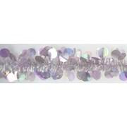 Paillette Tinsel Opal Rosa Iris 2m (6251)