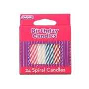 Culpitt Spiral Cake Candles 24s (6557)