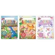 A4 Carry Colouring And Activity Pad (6891)