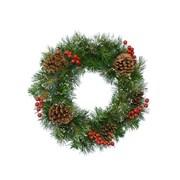 Ipswich Wreath Snowy Berries 50cm (689164)
