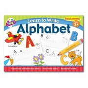 Learn To Write Alphabet Pad (6897)