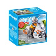 Playmobil City Life Emergency Motorbike (70051)