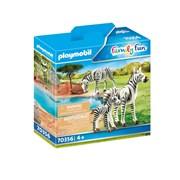 Playmobil Zebras with Foal (70356)