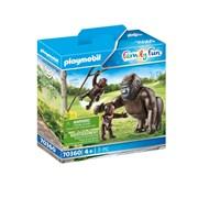 Playmobil Gorilla with Babies (70360)