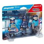 Playmobil Police Figure Set (70669)