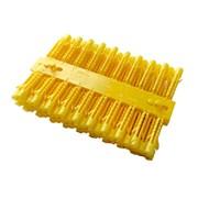 Yellow Wall Plugs Size 4-6 190s (72963)