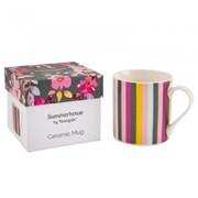 Gardenia Mug Stripe (73890)
