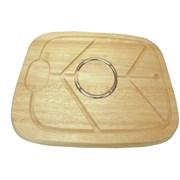 Apollo Hevea Wood Carving Board (7461)