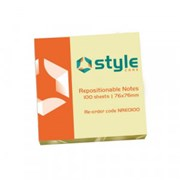 """Office Style Rpstnl Notes Yellow 3x3"""" (792659)"""
