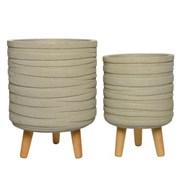 Fibre Clay Planter Sand (802560MEDIUM)
