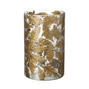 Gold Leaf Candle Holder H200mm (810839)