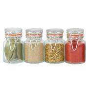 Apollo Setx4 Glass Spice Jars (8241)