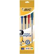 Bic Cristal Ball Pens Asst 4pk (8308621)