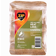 Zip Natural Willow Heat Logs 10pk
