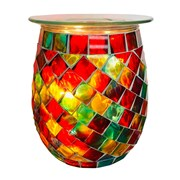 Xystos Rainbow Mosaic Glass Burner (8600)