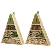 Firwood Insect House Triangle Asstd 39cm (862148)