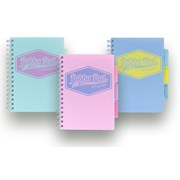 Pukka Pastel Project Book Assorted A5 (8631-PST)