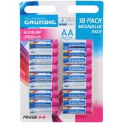 Grundig Alkaline Battery 18aa 18's (14568)