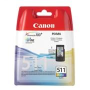Canon 511 Cartridge Colour (875101)