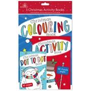 Christmas Multi Activity Books (8844/48)