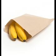Brown Kraft Paper Bags 8.5sq 1000 (88K)