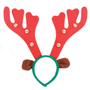 Reindeer Antlers With Bells (8905/48)