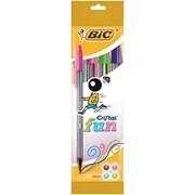 Bic Cristal Fun Ball Pens 4s (8957921)